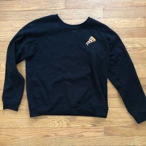 Forever21 pizza sweatshirt